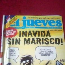 Coleccionismo de Revista El Jueves: EL JUEVES. AÑO XXV. N° 1332. DICIEMBRE 2002.. Lote 176073563