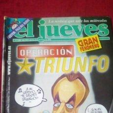Coleccionismo de Revista El Jueves: EL JUEVES. AÑO XXV. N° 1286. ENERO 2002. Lote 176265950