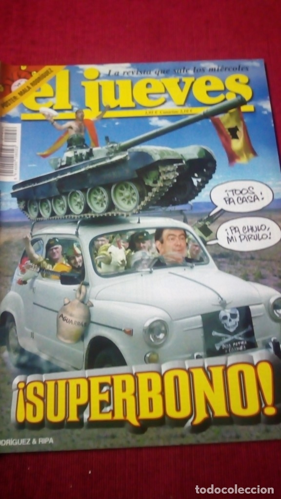 EL JUEVES. AÑO XXVII. N° 1406. MAYO 2004 (Coleccionismo - Revistas y Periódicos Modernos (a partir de 1.940) - Revista El Jueves)