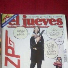Coleccionismo de Revista El Jueves: EL JUEVES. AÑO XXVII. N° 1433. NOVIEMBRE 2004. Lote 176266375