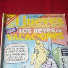 Coleccionismo de Revista El Jueves: EL JUEVES. AÑO XXV. N° 1317. AGOSTO 2002. Lote 176271663