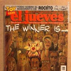 Collectionnisme de Magazine El Jueves: EL JUEVES N° 983 (MARZO 1996). ESPECIAL OSCARS '96. BUEN ESTADO. POSTER EL ÚLTIMO DE LA FILA. Lote 176306897