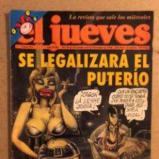 Coleccionismo de Revista El Jueves: EL JUEVES N° 914 (DICIEMBRE 1994). SE LEGALIZARÁ EL PUTERIO. POSTER FELIPE Y ALFONSO GUERRA.. Lote 176307933