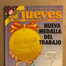 Collectionnisme de Magazine El Jueves: EL JUEVES N° 860 (NOVIEMBRE 1993). POSTER PAUL & LINDA MCCARTNEY. BUEN ESTADO.. Lote 221557117