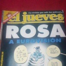 Coleccionismo de Revista El Jueves: EL JUEVES. AÑO XXV. N° 1304. MAYO 2002. Lote 176321984