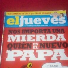 Coleccionismo de Revista El Jueves: EL JUEVES. AÑO XXXVI. N° 1869. MARZO 2013. Lote 176326455