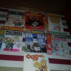 Coleccionismo de Revista El Jueves: LOTE 7 REVISTAS DEL JUEVES. Lote 176336540