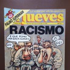 Coleccionismo de Revista El Jueves: 32 EJEMPLARES DE EL JUEVES - ENTRE EL Nº 810 (2 DIC. 1992) Y EL Nº 912 (16 NOV. 1994). Lote 176568792
