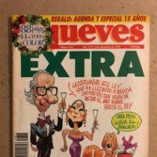 Coleccionismo de Revista El Jueves: EL JUEVES N° 811 (DICIEMBRE 1992). EXTRA NAVIDAD.. Lote 176599728