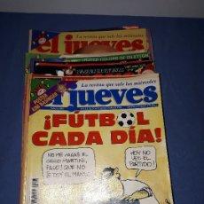 Coleccionismo de Revista El Jueves: REVISTA EL JUEVES. LOTE 17 NÚMEROS DIFERENTES AÑOS.. Lote 177041205