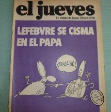 Coleccionismo de Revista El Jueves: REVISTA EL JUEVES AÑO I - NUMERO 7 - 1977.. Lote 177329588