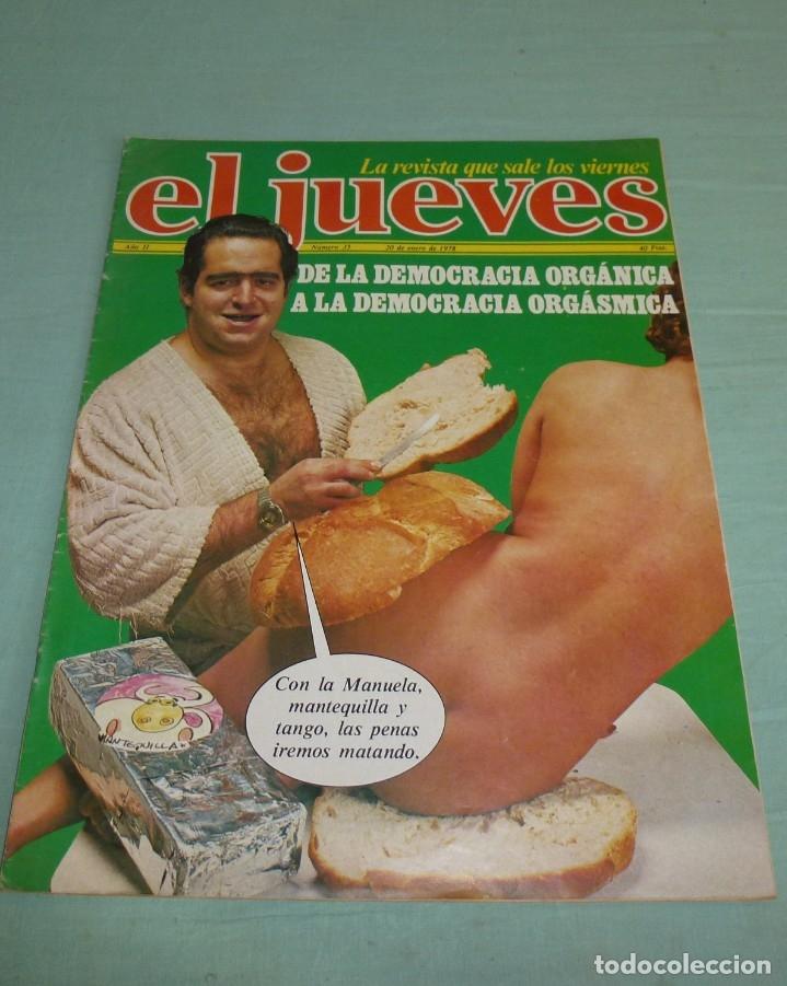 Coleccionismo de Revista El Jueves: 4 Revistas El Jueves Año II - 1978. - Foto 2 - 177523725