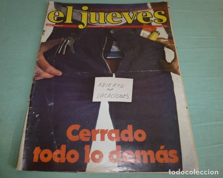 Coleccionismo de Revista El Jueves: 4 Revistas El Jueves Año II - 1978. - Foto 4 - 177523725