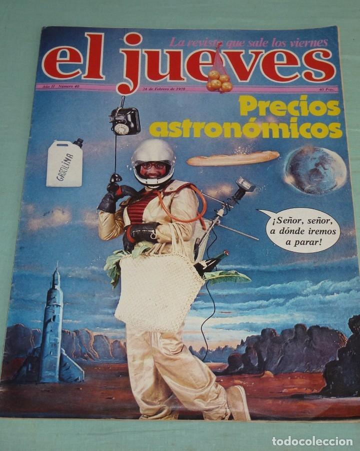 Coleccionismo de Revista El Jueves: 4 Revistas El Jueves Año II - 1978. - Foto 6 - 177523725