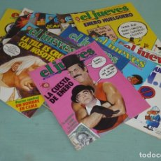 Coleccionismo de Revista El Jueves: 12 REVISTAS EL JUEVES AÑO III - 1979.. Lote 186365096