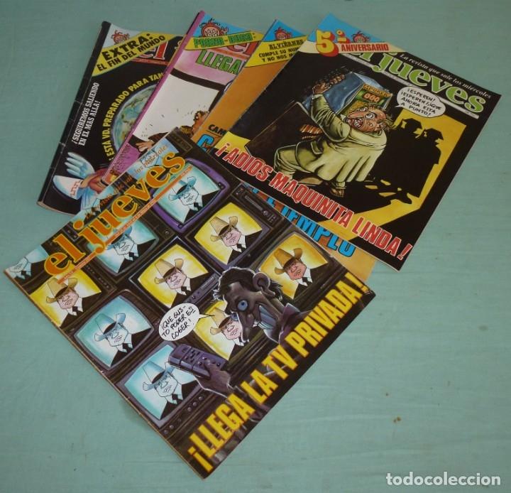 6 REVISTAS EL JUEVES AÑO VI - 1982. (Coleccionismo - Revistas y Periódicos Modernos (a partir de 1.940) - Revista El Jueves)