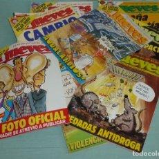 Coleccionismo de Revista El Jueves: 15 REVISTAS EL JUEVES AÑO XI - 1987.. Lote 177524873