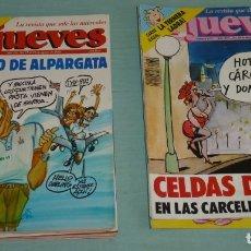 Coleccionismo de Revista El Jueves: 22 REVISTAS EL JUEVES ENTRE LOS AÑOS 86-99. Lote 184498571