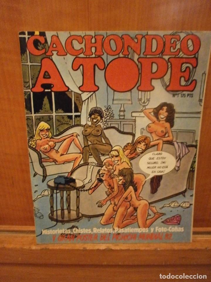 CACHONDEO A TOPE Nº 1. (Coleccionismo - Revistas y Periódicos Modernos (a partir de 1.940) - Revista El Jueves)