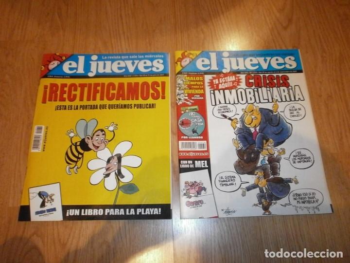 2 REVISTAS EL JUEVES AÑOS 2007. (Coleccionismo - Revistas y Periódicos Modernos (a partir de 1.940) - Revista El Jueves)