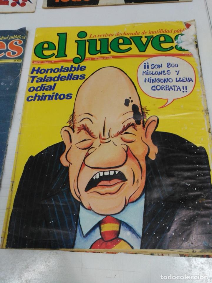 Coleccionismo de Revista El Jueves: Lote revistas antiguas el jueves - Foto 2 - 177963318