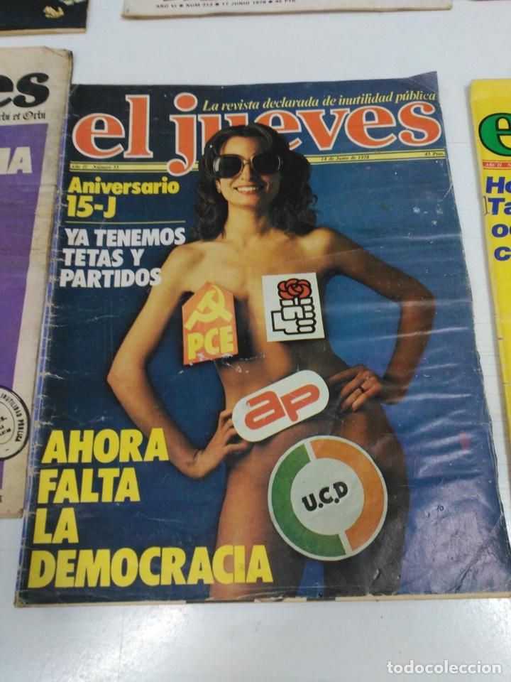 Coleccionismo de Revista El Jueves: Lote revistas antiguas el jueves - Foto 6 - 177963318