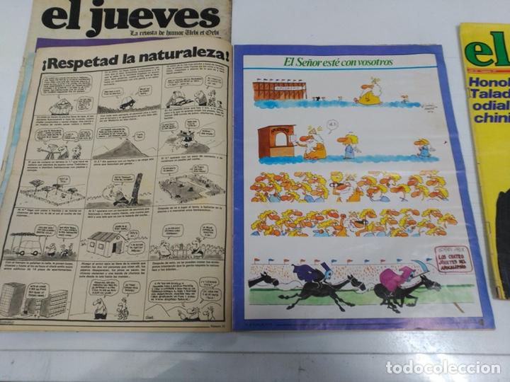 Coleccionismo de Revista El Jueves: Lote revistas antiguas el jueves - Foto 7 - 177963318