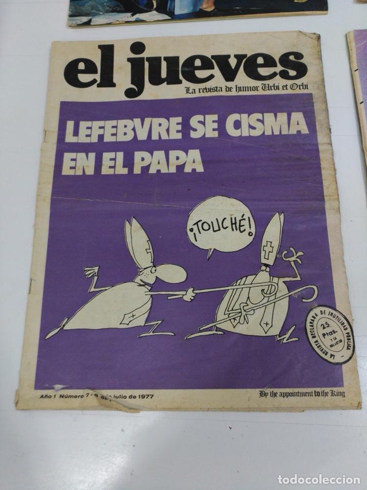 Coleccionismo de Revista El Jueves: Lote revistas antiguas el jueves - Foto 8 - 177963318