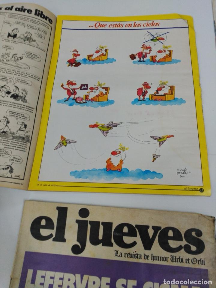Coleccionismo de Revista El Jueves: Lote revistas antiguas el jueves - Foto 11 - 177963318