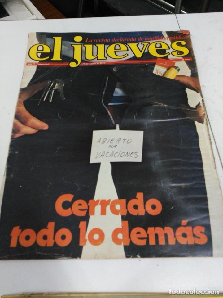 Coleccionismo de Revista El Jueves: Lote revistas antiguas el jueves - Foto 14 - 177963318