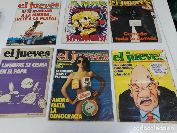 LOTE REVISTAS ANTIGUAS EL JUEVES (Coleccionismo - Revistas y Periódicos Modernos (a partir de 1.940) - Revista El Jueves)