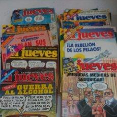 Coleccionismo de Revista El Jueves: LOTE REVISTAS EL JUEVES. Lote 177963382