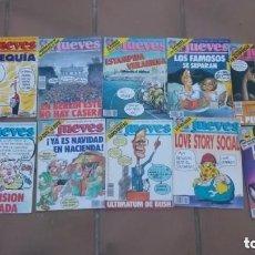 Coleccionismo de Revista El Jueves: REVISTA EL JUEVES-LOTE DE 22 EJEMPLARES-AÑOS 1989-1990. Lote 177980718