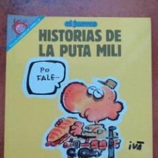 Coleccionismo de Revista El Jueves: PENDONES DEL HUMOR. NUM 69 HISTORIAS DE LA PUTA MILI. TO POR LA PATRIA !. Lote 178585558