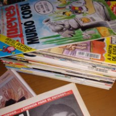 Coleccionismo de Revista El Jueves: MAGNÍFICO LOTE DE LA REVISTA EL JUEVES 40 NÚMEROS + 1 ESPECIAL (44) + RARO SUPLEMENTO PERIÓDICO. Lote 178631990