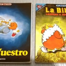 Coleccionismo de Revista El Jueves: 2 NUMEROS ESPECIALES DE EL JUEVES DE JOSE LUIS MARTIN. Lote 178652853