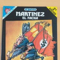 Coleccionismo de Revista El Jueves: PENDONES DEL HUMOR NUM 25 MARTINEZ EL FACHA VOLVERAN BANDERAS VICTORIOSAS. Lote 179155887