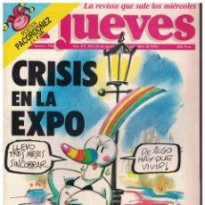 Collectionnisme de Magazine El Jueves: EL JUEVES Nº 796 - (1992). Lote 179188937