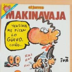 Coleccionismo de Revista El Jueves: PENDONES DEL HUMOR NUM 73. MAKINAVAJA. NOSOMOSNA. Lote 179220755