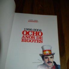 Coleccionismo de Revista El Jueves: ESPECIAL EL JUEVES OCHO AÑOS DE BIGOTES (AZNAR 1996/2004). Lote 179400756