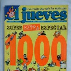 Coleccionismo de Revista El Jueves: REVISTA EL JUEVES ESPECIAL NÚMERO 1000. Lote 179517463