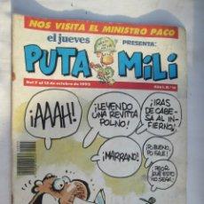 Coleccionismo de Revista El Jueves: EL JUEVES PRESENTA PUTA MILI Nº 15 07-10-1992. Lote 180398291