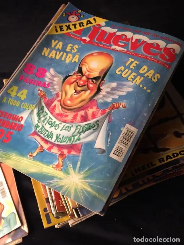 LOTE DE REVISTAS EL JUEVES (Coleccionismo - Revistas y Periódicos Modernos (a partir de 1.940) - Revista El Jueves)