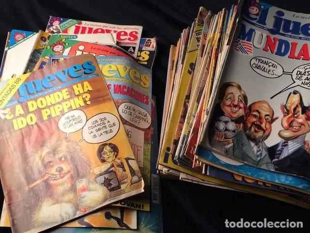 Coleccionismo de Revista El Jueves: Lote de revistas El Jueves - Foto 3 - 181202168