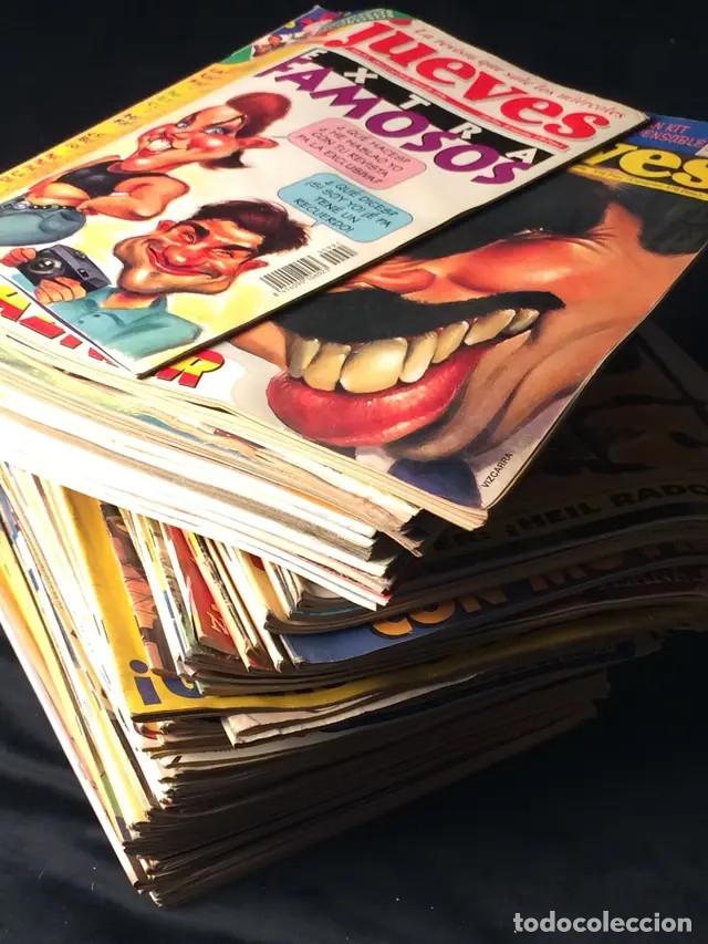 Coleccionismo de Revista El Jueves: Lote de revistas El Jueves - Foto 6 - 181202168