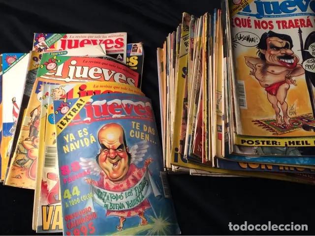 Coleccionismo de Revista El Jueves: Lote de revistas El Jueves - Foto 8 - 181202168