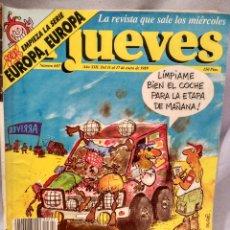 Coleccionismo de Revista El Jueves: LOTE 11 REVISTAS EL JUEVES (ENERO 1989 A AGOSTO 1990). Lote 181418583