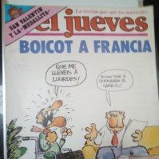 Coleccionismo de Revista El Jueves: EL JUEVES N°246 BOIKOT A FRANCIA 10-16 FEB.1982. Lote 181097537