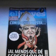 Coleccionismo de Revista El Jueves: 12 REVISTAS EL JUEVES. Lote 181508902