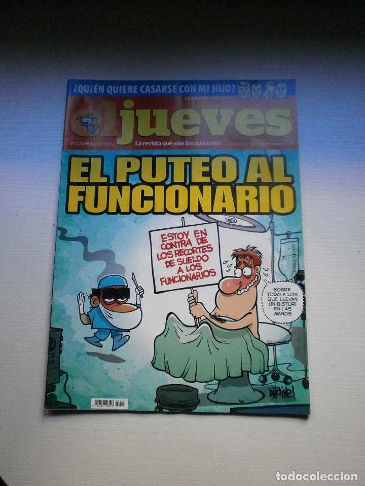 Coleccionismo de Revista El Jueves: 12 REVISTAS EL JUEVES - Foto 4 - 181508902